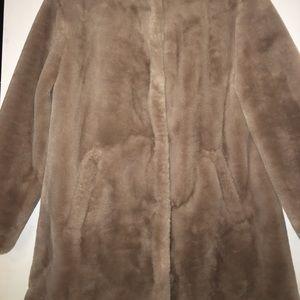 Brand new faux fur jacket